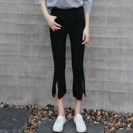 MSSEFN 2016新款七分微喇裤
