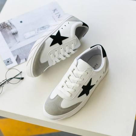 MSSEFN 2016夏季新款时尚休闲运动鞋小白鞋男鞋