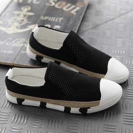 MSSEFN 时尚男士休闲鞋 莱卡超弹力鞋面网面透气