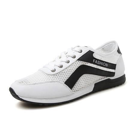 MSSEFN 夏季超值新款男士网面休闲运动鞋男士透气跑步鞋球鞋