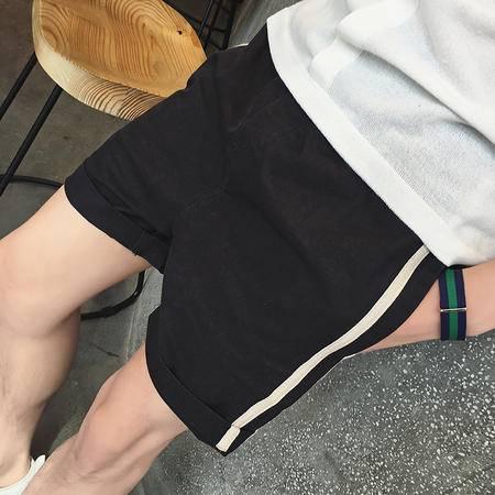 MSSEFN  休闲短裤抽绳松紧工装中裤