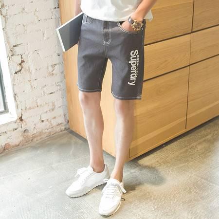 MSSEFN  2016爆款大货小清新五分牛仔裤时尚修身大码多色牛仔裤