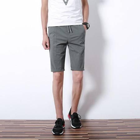 MSSEFN  2016夏季新款棉麻男士时尚休闲短裤