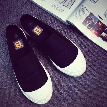 MSSEFN潮流韩版夏季新款韩版男士休闲透气帆布鞋拖鞋男鞋