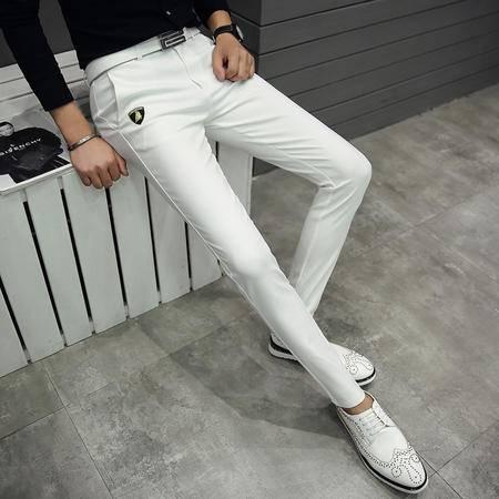 MSSEFN2016秋冬新款 韩版修身男士休闲长裤 锥形裤