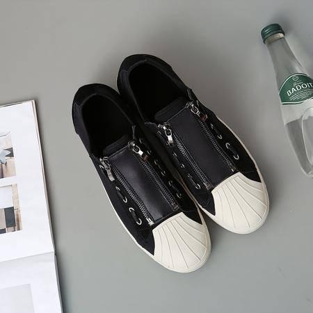 mssefn2016秋季韩版新款潮流舒适运动休闲鞋贝壳头简约小白鞋