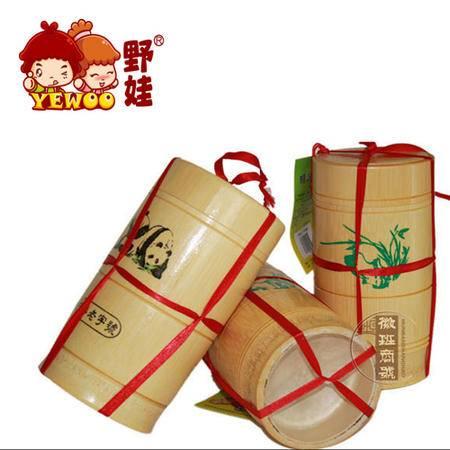 安庆特产胡玉美蚕豆酱辣椒酱豆瓣酱炒菜调味料500g*2竹筒礼盒