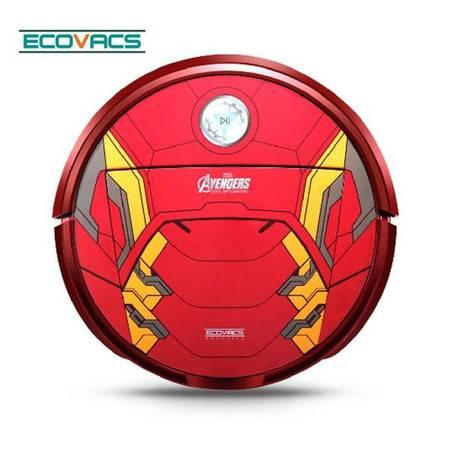 科沃斯复仇者联盟电影周边限量版扫地机器人地宝钢铁侠