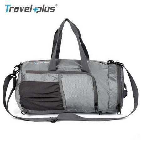 TRAVEL PLUS 2016 正品大容量可折叠运动旅行袋 TP5505