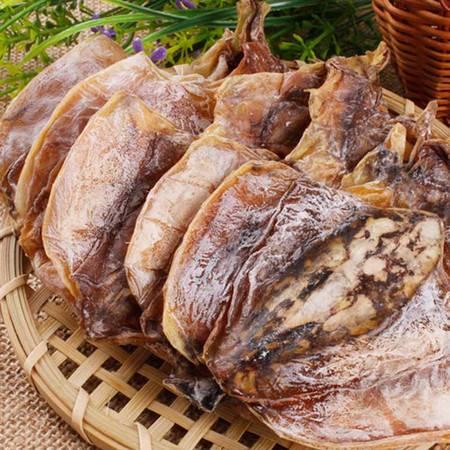 福建特产本港小墨鱼干 新鲜目鱼干特级 淡晒 乌贼海鲜干货 特产海产品 500g