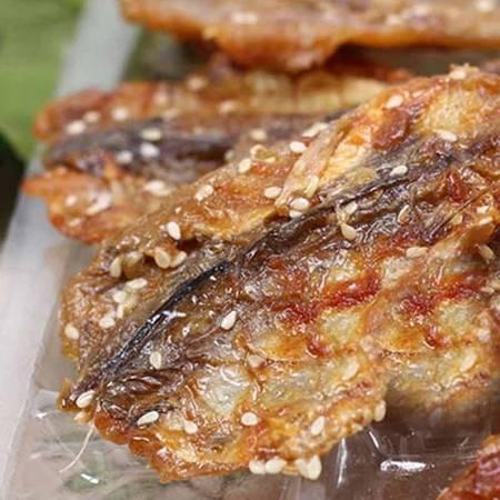 福建特产 厦门特产 鱼干 赤棕鱼干 香酥赤棕鱼 休闲零食 小吃烤鱼片 即食鱼干 150g
