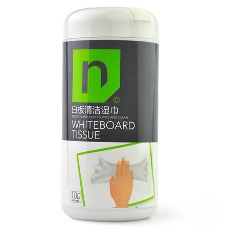 路尔新(Loukin) 白板清洁湿巾 100抽  WBT-01