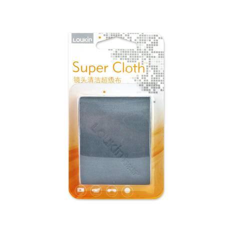 路尔新(Loukin) 手机镜头 数码相机镜头布 镜头清洁 SC-001 灰色
