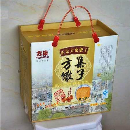 方集香油菜籽油现炸细馓子糕点休闲零食小吃安徽阜阳特产3斤礼盒