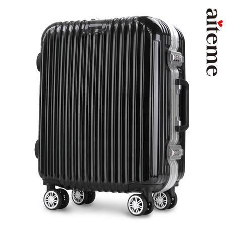 商务铝框密码拉杆箱万向轮女男行李登机箱韩版旅行箱28寸学生时尚潮流箱包箱子