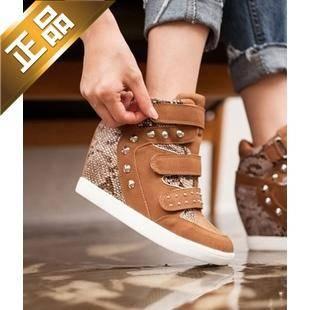 vivier shoes-韩版坡跟魅力高跟鞋【包邮】【韩国正品】