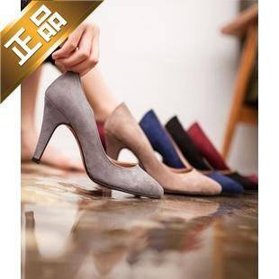 vivier shoes-尖头韩版细高跟高跟鞋【包邮】【韩国正品】