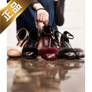 vivier shoes-尖头粗高跟韩版高跟鞋[9cm]【包邮】【韩国正品】
