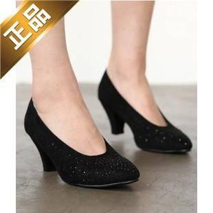 vivier shoes-尖头韩版高档高跟鞋 [6cm]【包邮】【韩国正品】