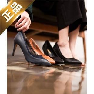 vivier shoes-细高跟纯色尖头高跟鞋 [9cm] 【包邮】【韩国正品】