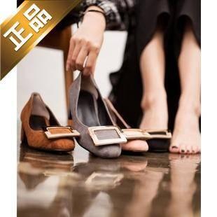 vivier shoes-配色尖头韩版高跟鞋 [5cm]【包邮】【韩国正品】