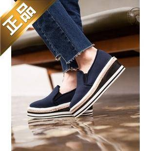 vivier shoes-配色韩版新款平底高跟鞋【包邮】【韩国正品】