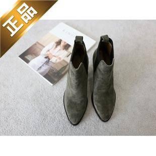 naning9-韩国秋季高档短筒靴子【包邮】【韩国正品】