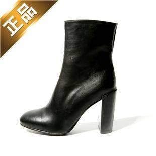 stylenanda-韩版新款帅气短筒靴子【包邮】【进口正品】