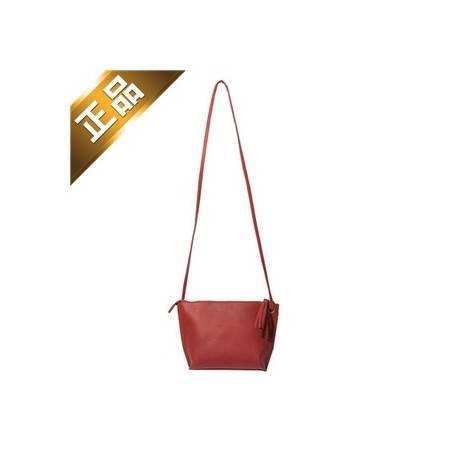 stylenanda-韩版纯色简单皮革单肩包【包邮】【韩国正品】