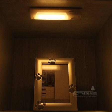 闪迪家居 智能LED人体感应灯 可充电橱柜灯卧室小夜灯 起夜应急灯