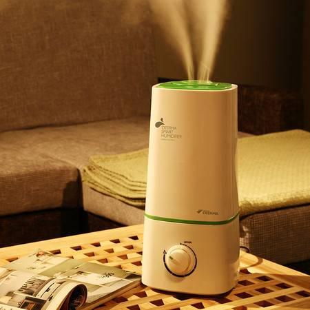 德尔玛超声波加湿器 家用 活性炭过滤加湿器 空气加湿 净化 F230