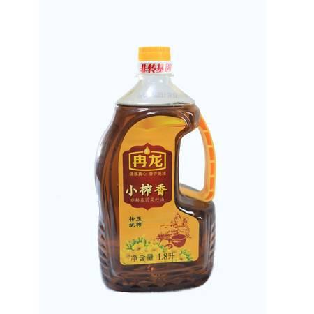 冉龙非转基因小榨香菜籽油1.8L