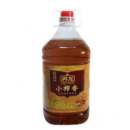 【新品推荐】冉龙非转基因小榨香菜籽油5L