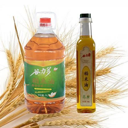 冉龙非转基因稻米油5L+500ML套餐全国包邮