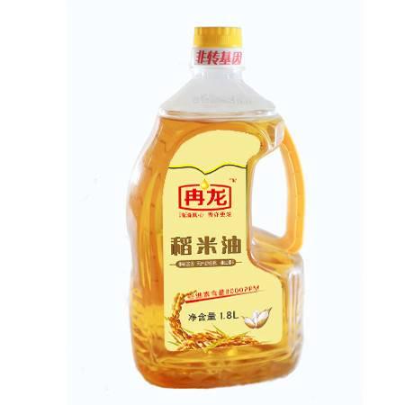 冉龙非转基因四级稻米油1.8L*2套装