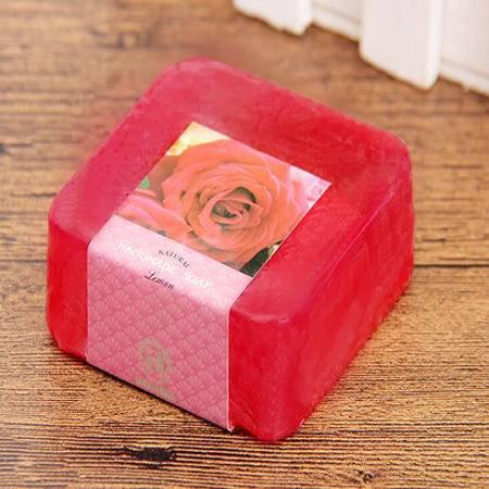ABADA/雅比特玫瑰美白补水祛黑色素洁面精油手工皂105g