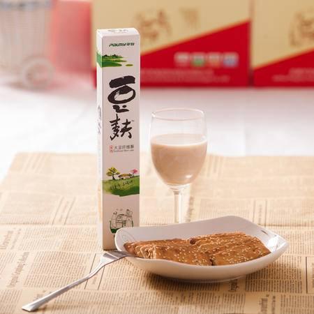 淮南特产平牧80克葱香味豆麸饼干大豆纤维酥营养美味休闲零食