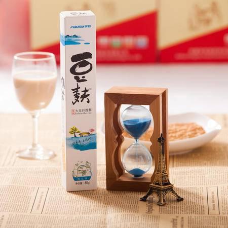 淮南特产平牧80克椒盐味豆麸饼干大豆纤维酥营养美味休闲零食