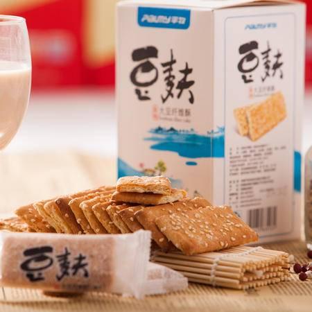 淮南特产平牧235克椒盐味豆麸饼干大豆纤维酥营养美味休闲零食