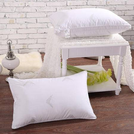 羽丝绒枕头芯 全棉印花面料 单人枕头枕芯 ALS