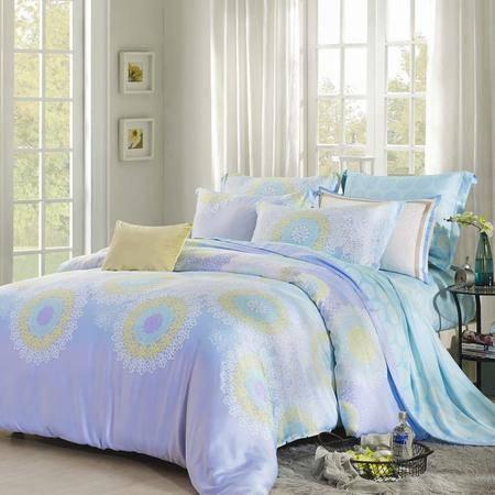 佩玉家纺 40天丝四件套 床上用品天丝套件 KY