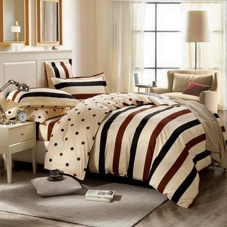 佩玉家纺 纯棉床单多规格四件套 简约床上用品NH8