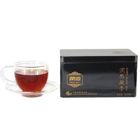 润思祁门红茶 创新红茶 特级祁红香螺 润思凝香 100克新茶茶叶