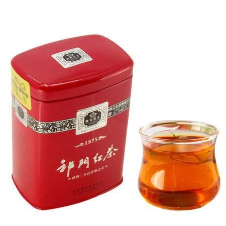 祁乡园工夫红茶 正山小种形茶叶 祁门红茶 极品红茶 兰花香 100克