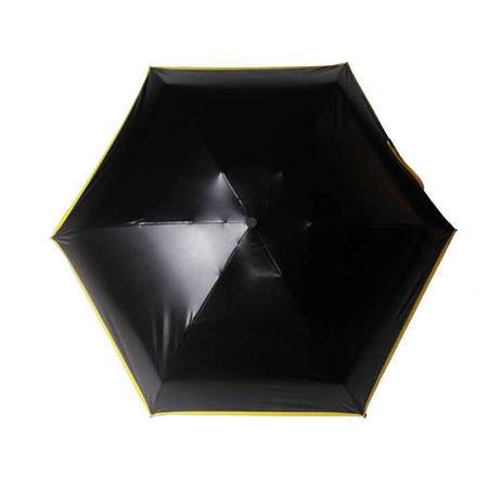 碧贝 BEEBEY 超轻防晒小黑伞折叠太阳伞遮阳伞 黑胶防晒防紫外线