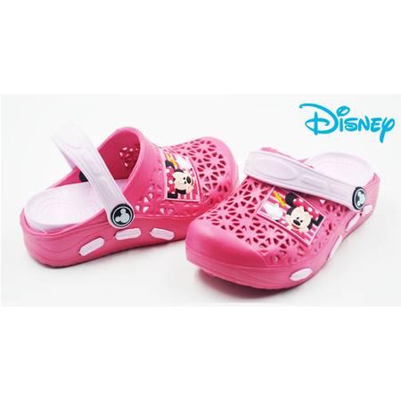 包邮迪士尼正品 情侣家居凉拖鞋 夏季男女童 一家三口沙滩洞洞鞋