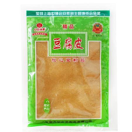 淮南八公山特产 八公山泉 豆腐皮 纯豆加工 精品菜 220g/袋