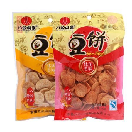 八公山泉酥脆豆饼95克/袋 休闲小零食豆干制品