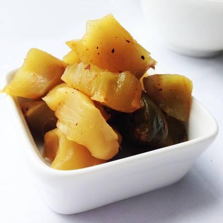 阿高 师傅腌制酱菜榨菜芯格外鲜128g/袋美味 斜桥 下饭菜