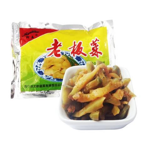 阿高 师傅腌制酱菜榨菜美味 斜桥 下饭菜老板菜70g/袋